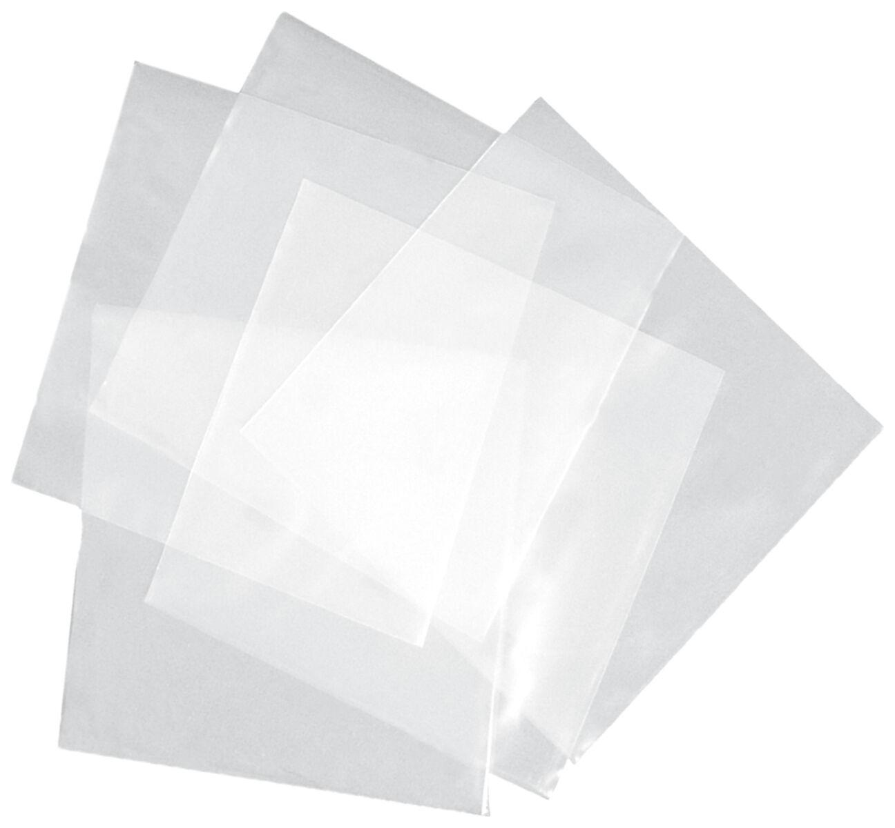 Vinyl-Verschlusshüllen (100 Stück)   Schutzhülle  Standard