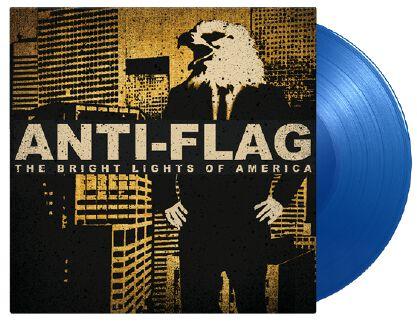 Image of Anti-Flag The bright lights of America 2-LP blau