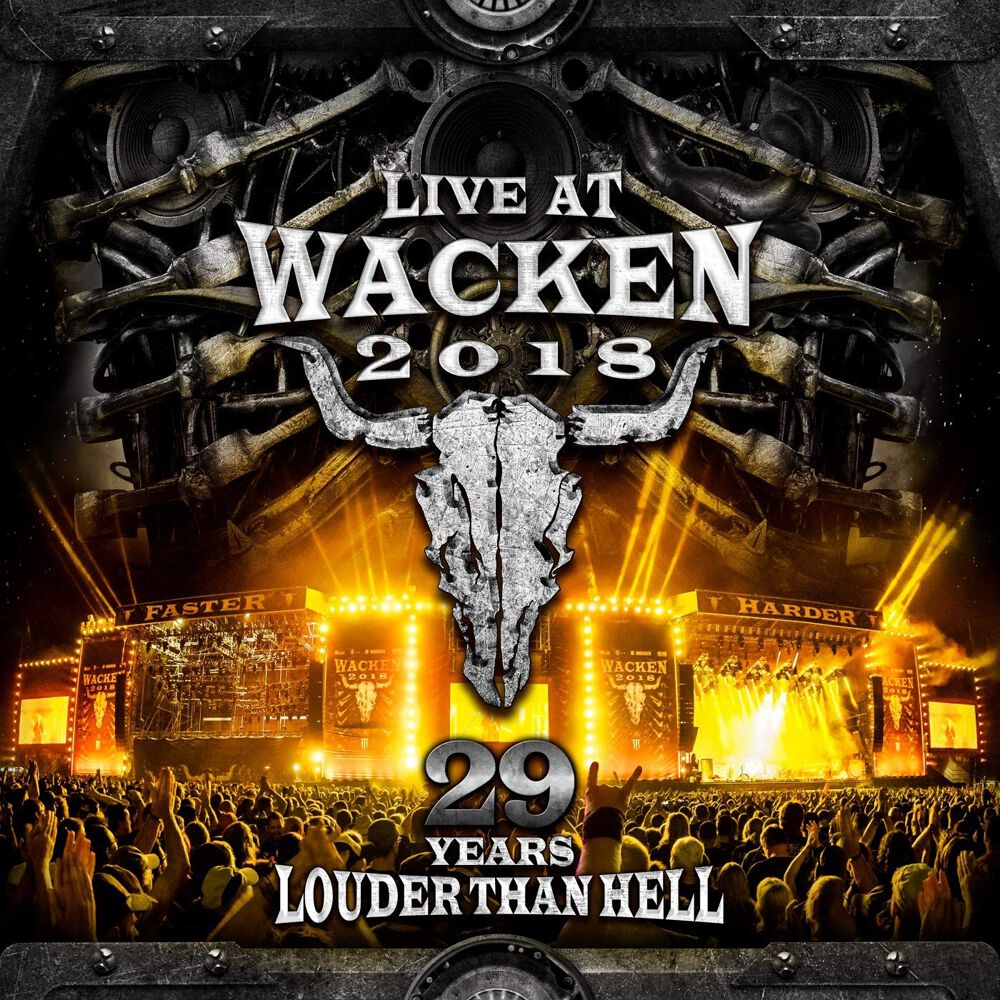 Image of Wacken Live at Wacken 2018: 29 years louder than hell 2-CD & 2-DVD Standard