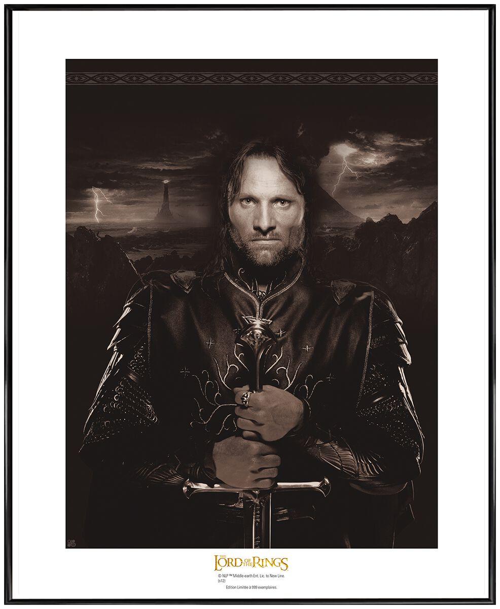 Der Herr der Ringe Aragorn (Collector Artrpint) Poster multicolor ABYART008
