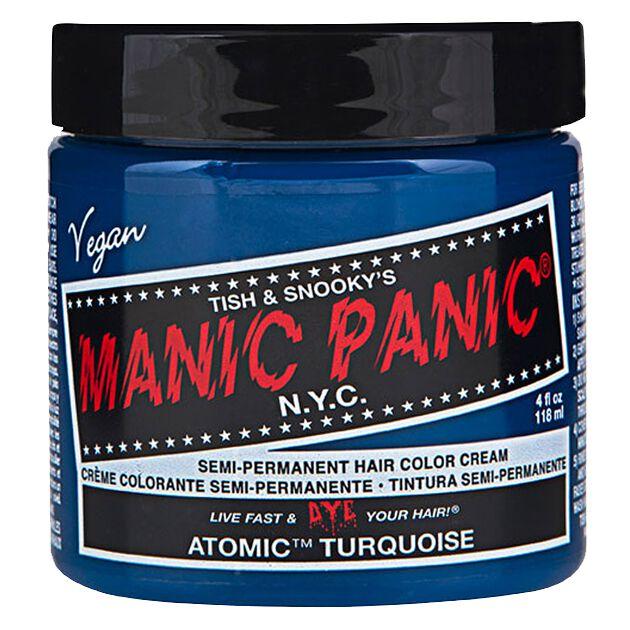 Manic Panic Atomic Turquoise - Classic  Haar-Farben  türkis