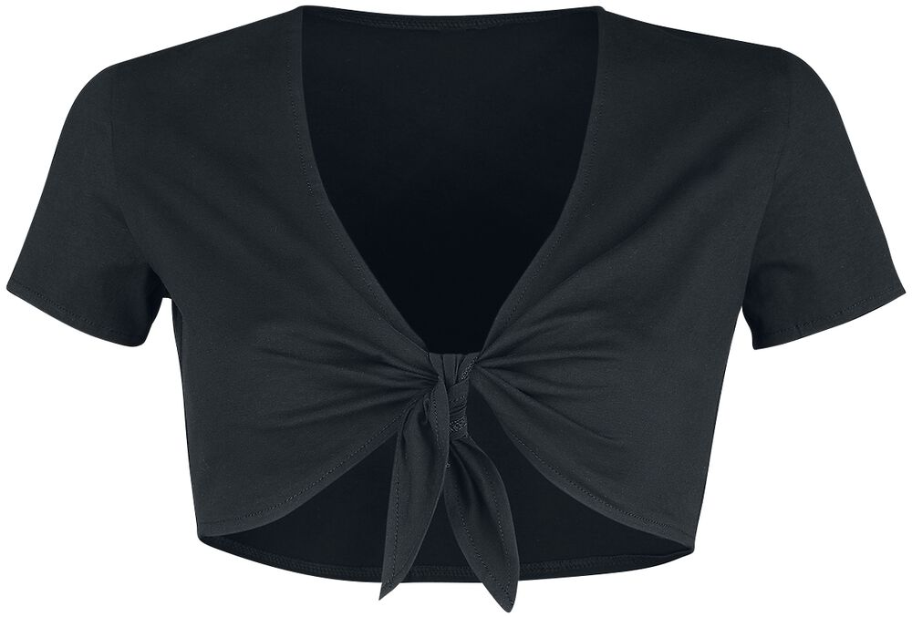 Cropped Knotted Top