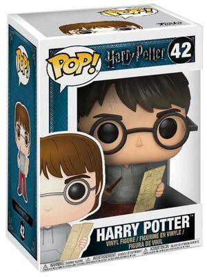 Harry Potter mit Karte des Rumtreibers Vinyl Figur 42
