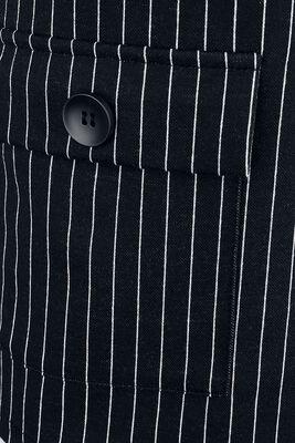 Kleid mit Nadelstreifen