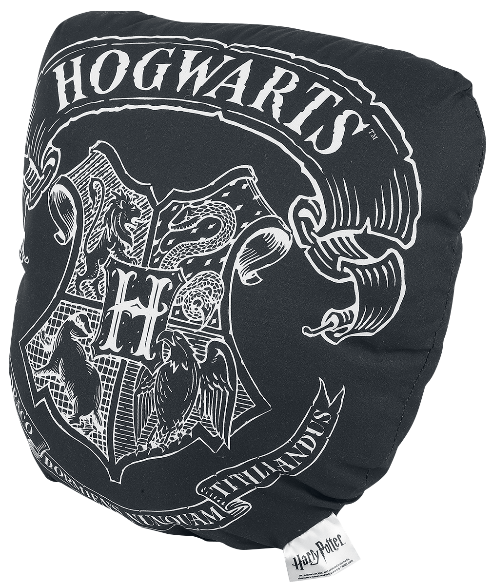 Harry Potter - Hogwarts - Kissen - schwarz