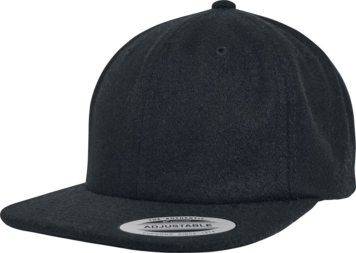 Image of Flexfit Melton Cap Flexcap schwarz