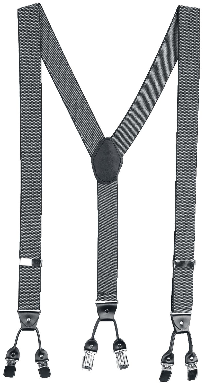 Banned Alternative - Rockabilly Braces - Hosenträger - schwarz| grau