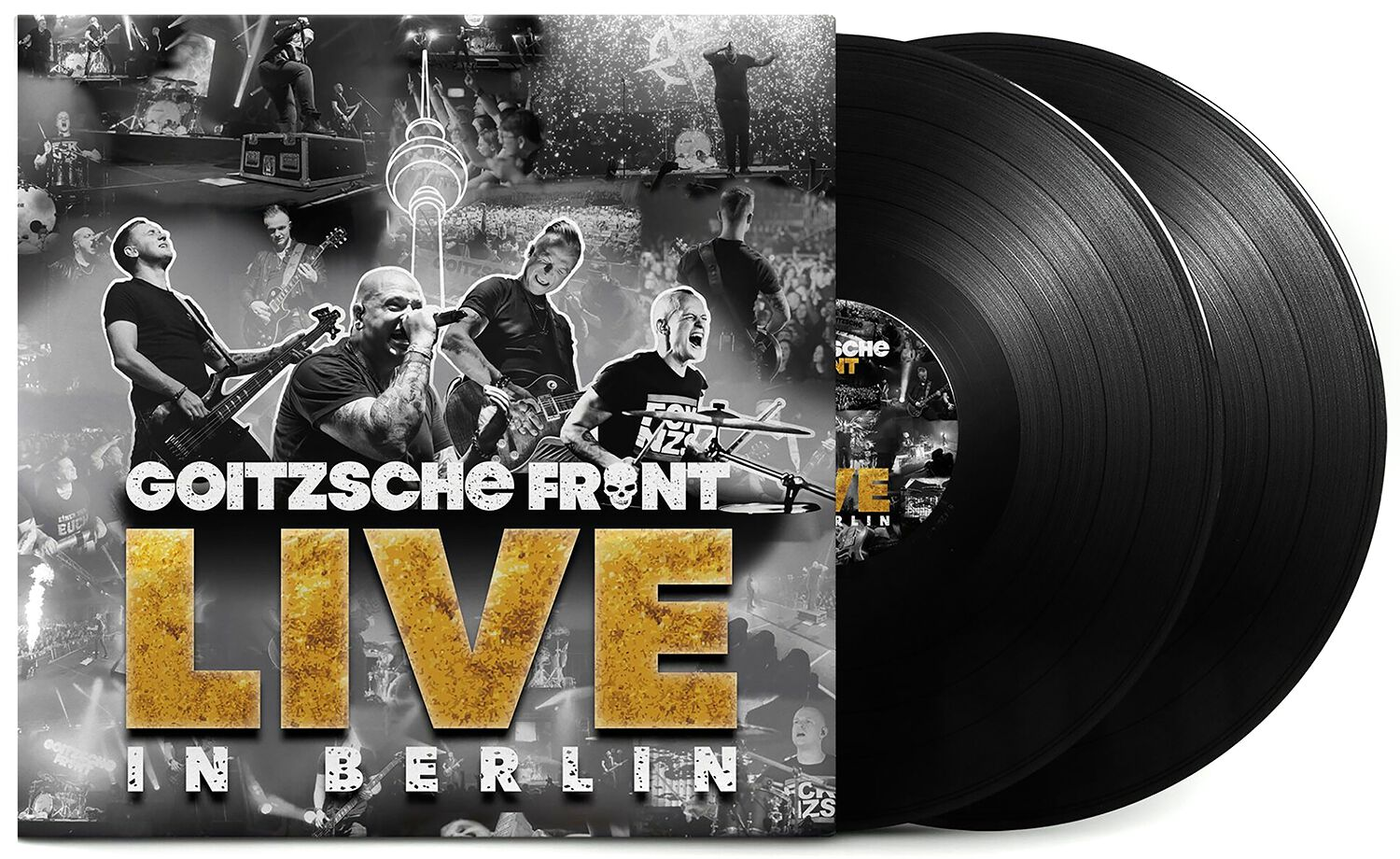 Image of Goitzsche Front Live in Berlin 3-LP Standard