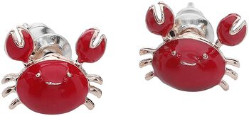 Crab Earstuds