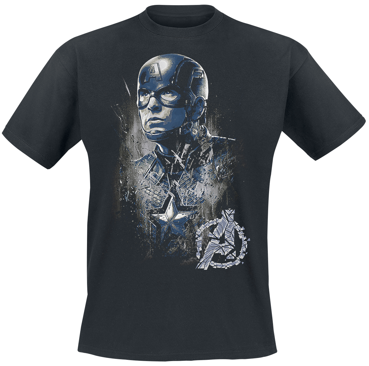 Captain America - Profile - T-Shirt - black image