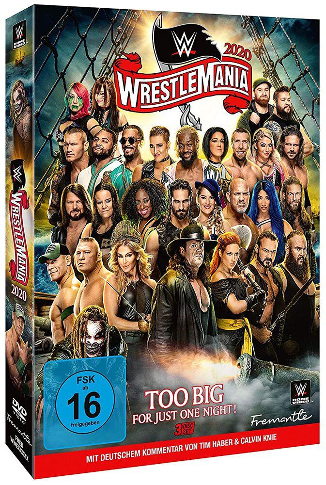 Image of WWE WrestleMania 36 3-DVD Standard