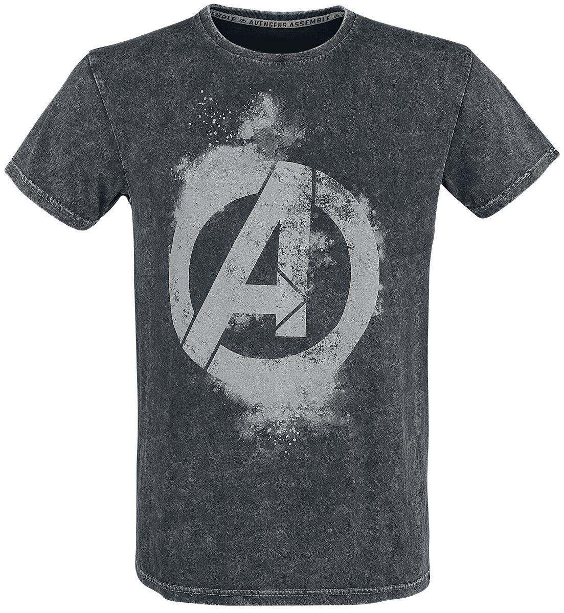 Image of Avengers Earth's Mightiest Heroes T-Shirt schwarz