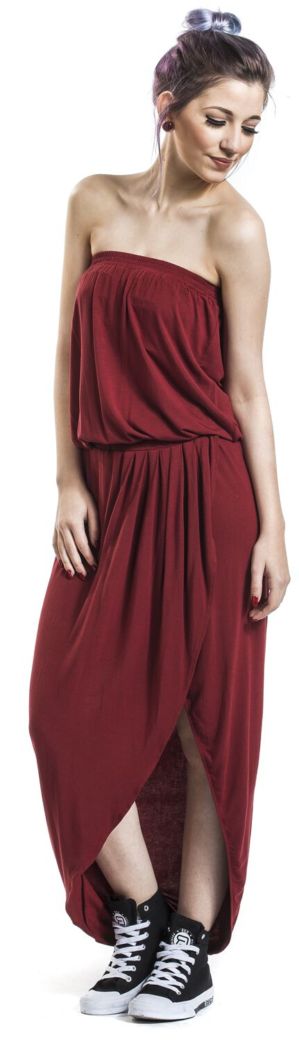 Ladies Viscose Bandeau Dress | Urban Classics Kurzes Kleid ...
