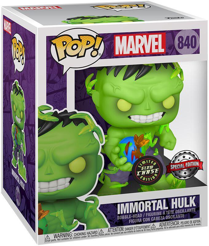Immortal Hulk (Chase Edition möglich!) (Super Pop!) Vinyl Figur 840