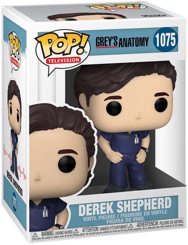 Grey's Anatomy: Die jungen Ärzte Derek Shepherd Vinyl Figur 1075