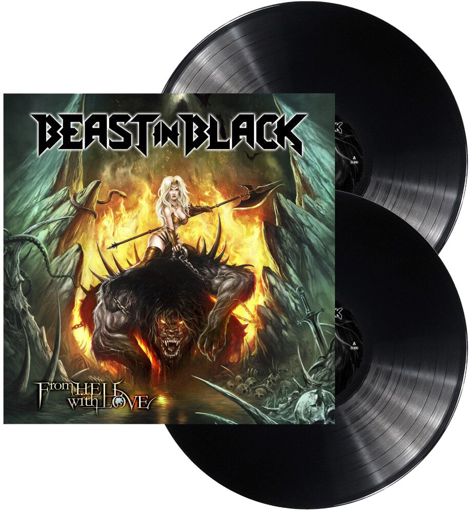 Image of Beast In Black From hell with love 2-LP Standard