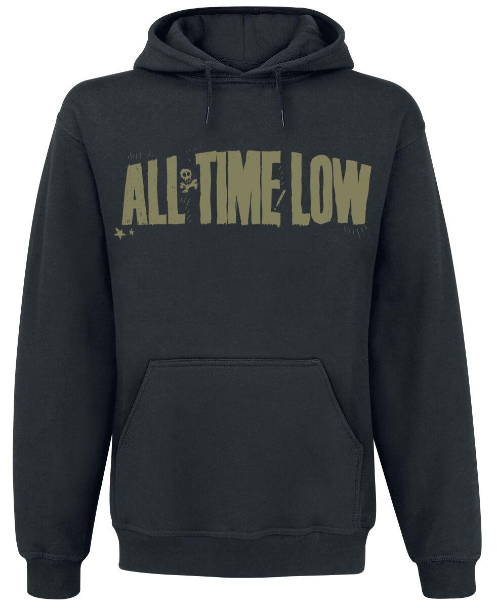 Image of All Time Low Holds It Down Kapuzenpulli schwarz