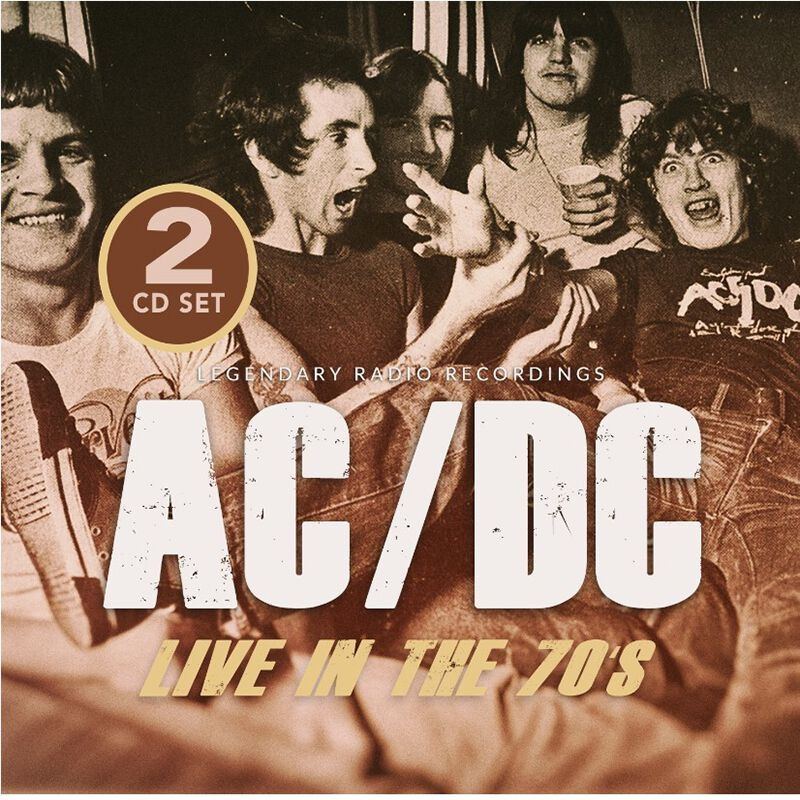 Image of AC/DC Live in the 70s - Radio Broadcasts 2-CD Standard