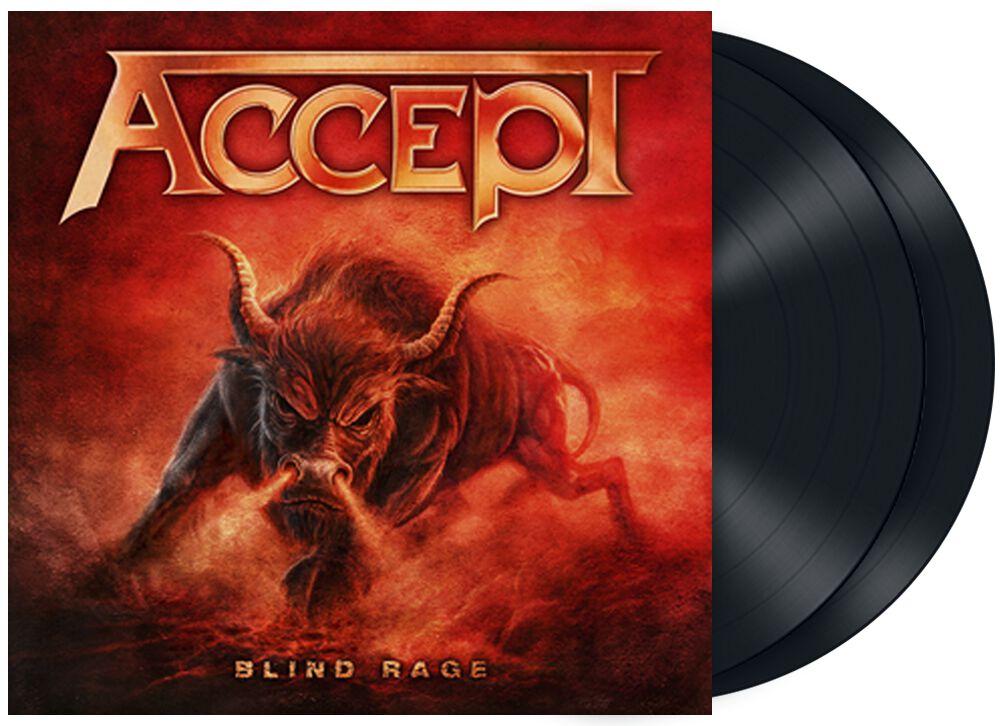 Image of Accept Blind rage 2-LP Standard