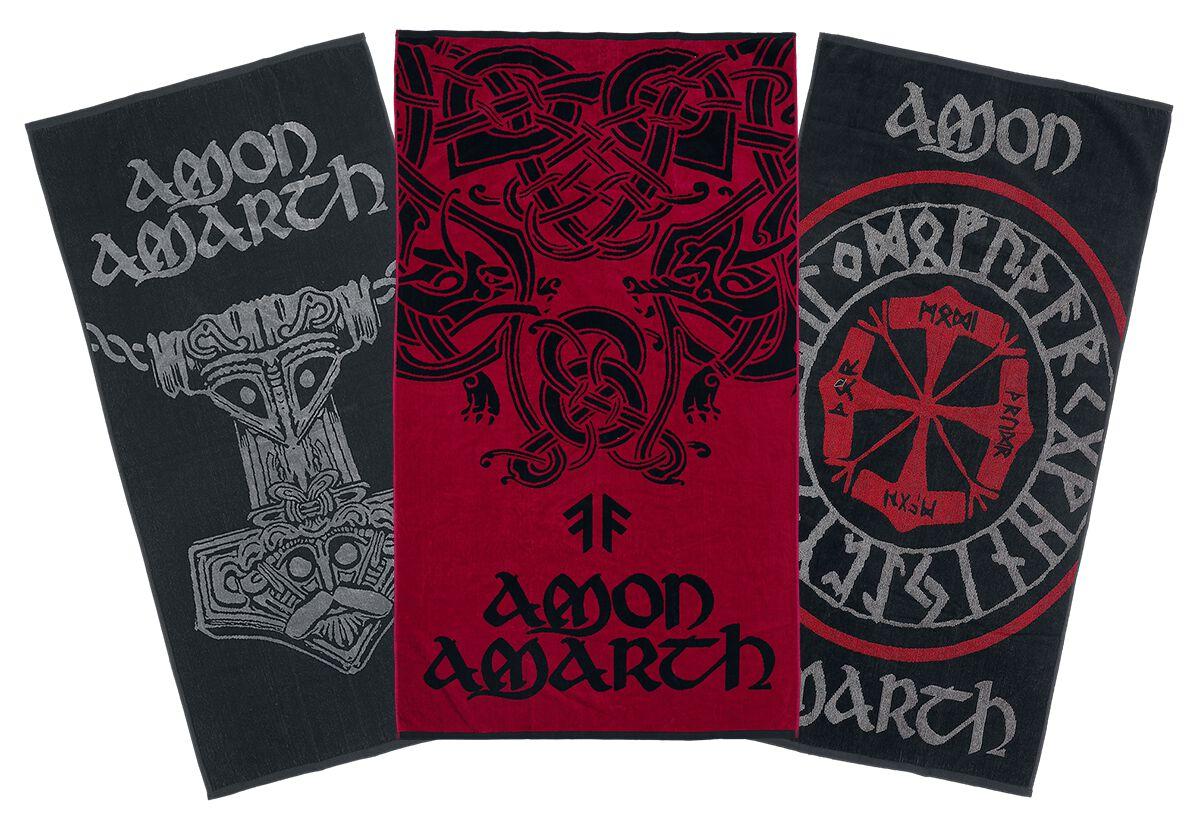 Image of Amon Amarth Bundle - Größe L Handtuch-Set multicolor