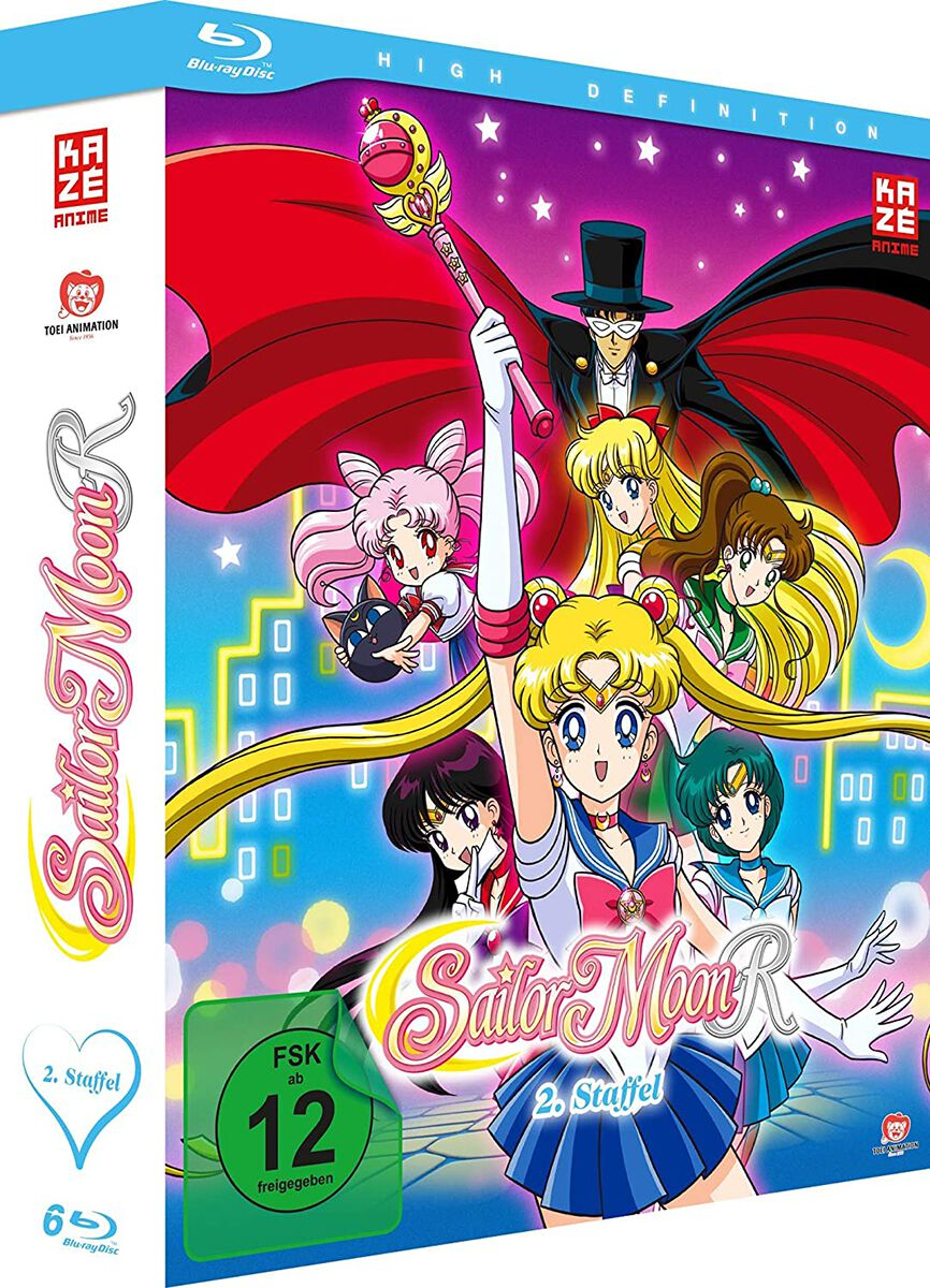 Image of Sailor Moon R - Staffel 2 - Gesamtausgabe 6-Blu-ray Standard