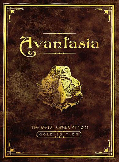 Image of Avantasia The Metal opera pt. I & pt. II 2-CD Standard