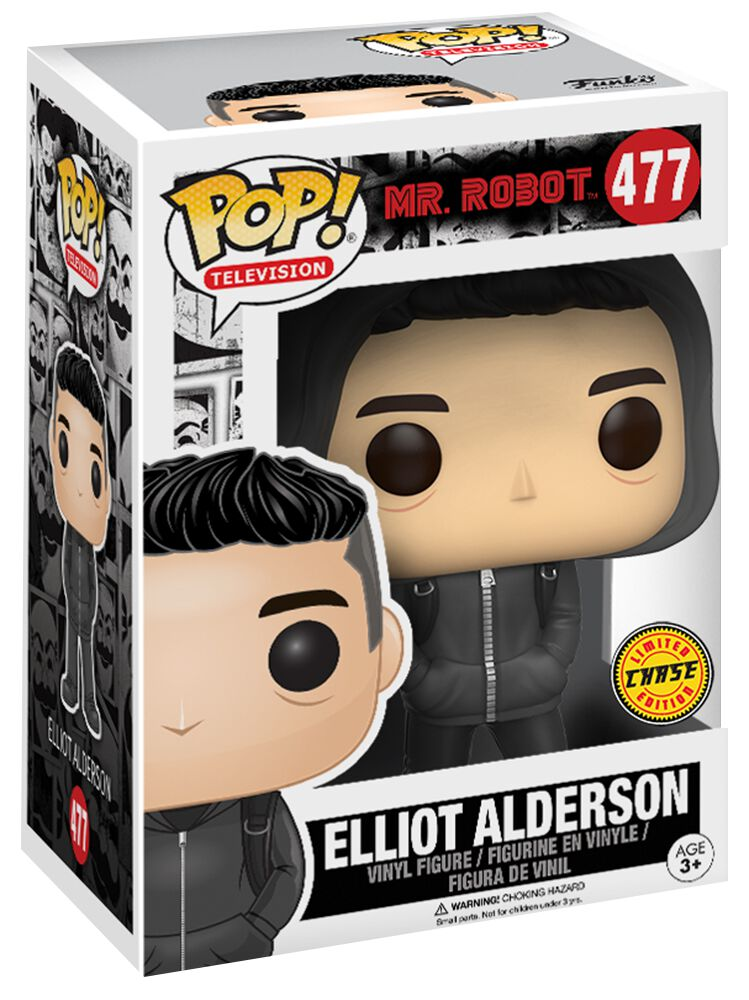 mr robot elliot alderson chase ist m glich vinyl figure 477. Black Bedroom Furniture Sets. Home Design Ideas
