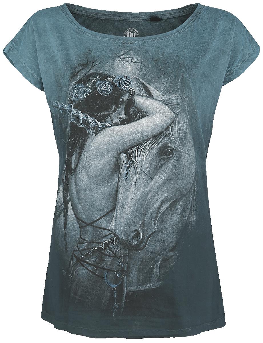 Alchemy England - Mythicorn - Girls shirt - turquoise image