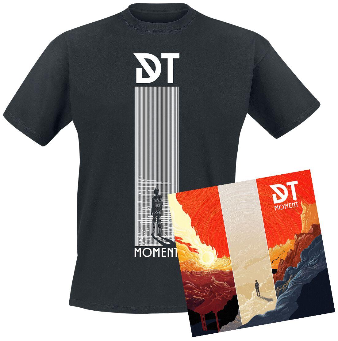 Image of Dark Tranquillity Moment CD & T-Shirt Standard