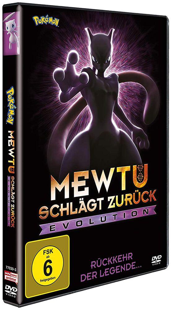 Pokémon Mewtu schlägt zurück – Evolution DVD multicolor 7777030POY