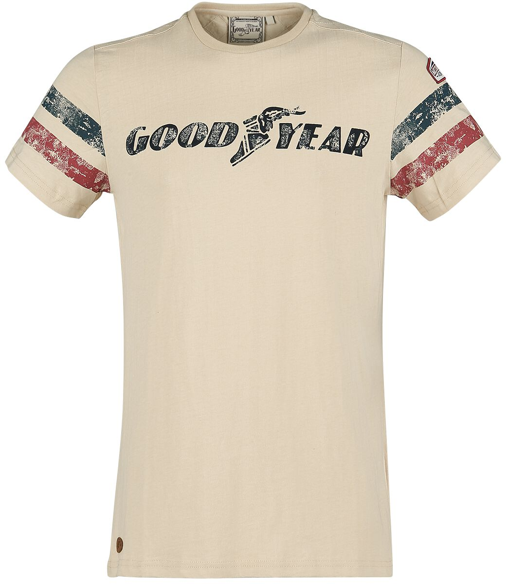 Image of GoodYear - Grand Bend - T-Shirt - Uomo - beige