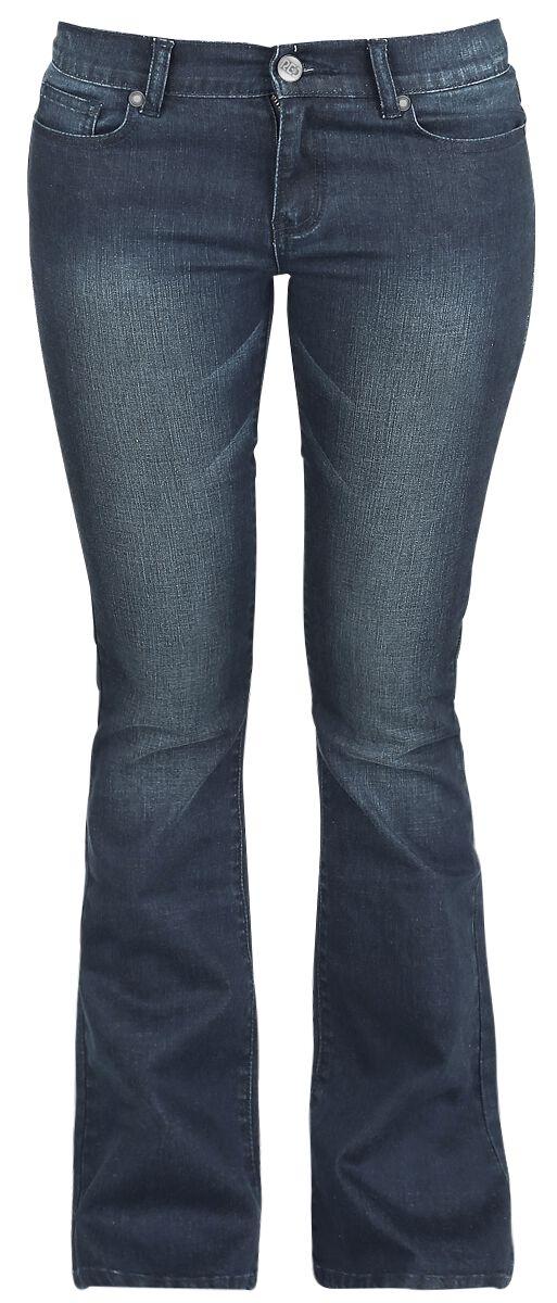 Hosen für Frauen - RED by EMP Grace Jeans dunkelblau  - Onlineshop EMP