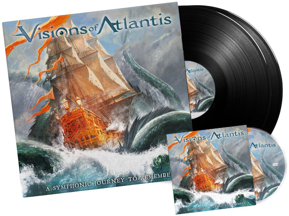 Image of Visions Of Atlantis A symphonic journey to remember 2-LP & DVD Standard