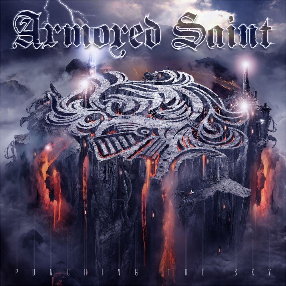 Image of Armored Saint Punching the sky CD Standard