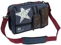 Rucksack und Messenger Bag