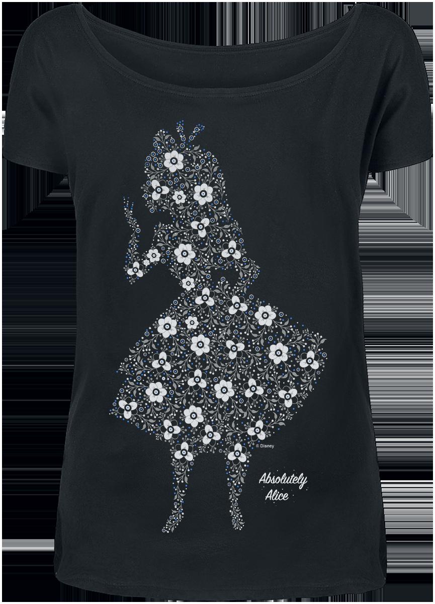 Alice in Wonderland - Absolutely Alice - Girls shirt - black image