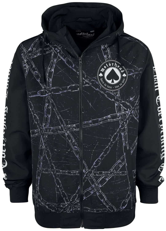 Motörhead EMP Signature Collection Windbreaker black white