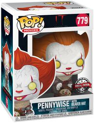 Kapitel 2 - Pennywise with Beaver Hat Vinyl Figure 779