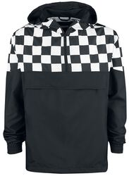 Check Pull Over Jacket
