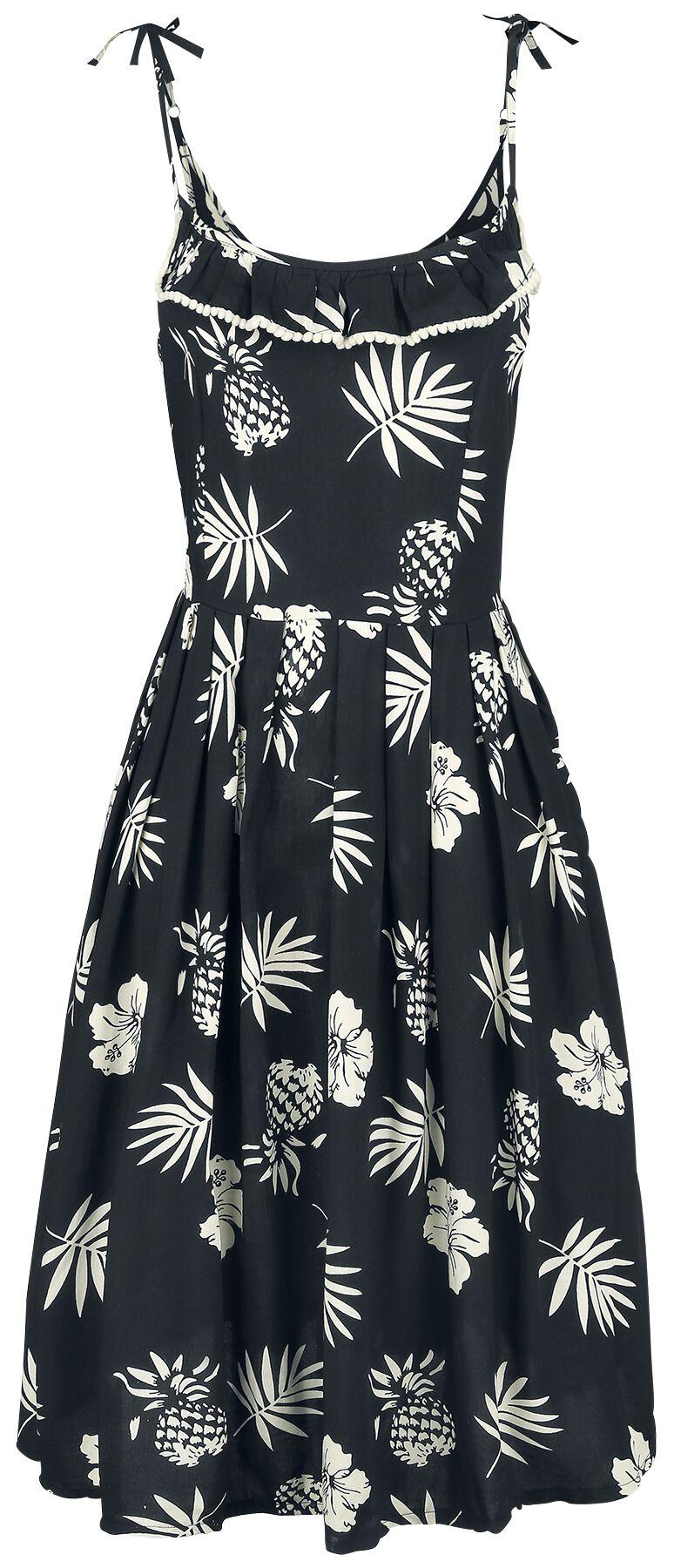 Kleider - Hell Bunny Tropicana Dress Mittellanges Kleid multicolor  - Onlineshop EMP