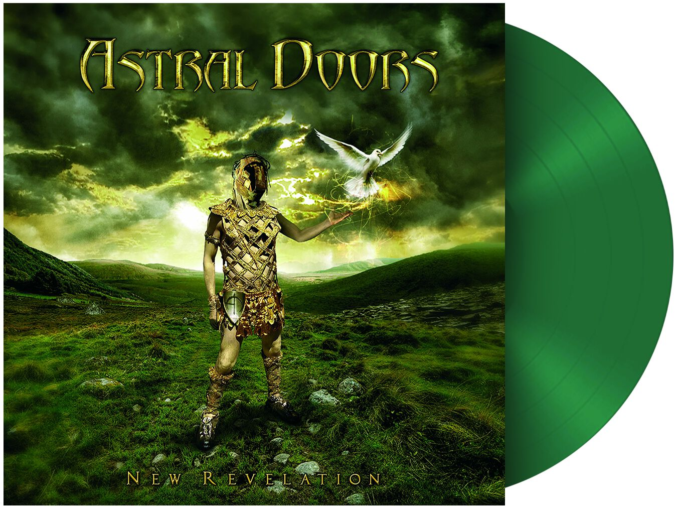 Image of Astral Doors New revelation LP grün