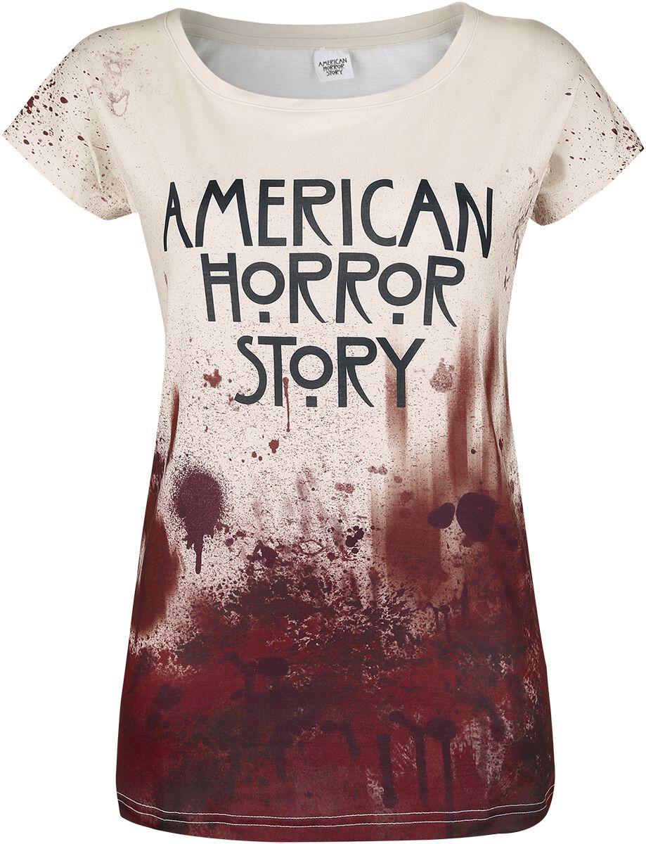 Image of American Horror Story Logo Girl-Shirt multicolour