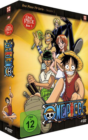 Image of One Piece Die TV-Serie - Box 1 6-DVD Standard