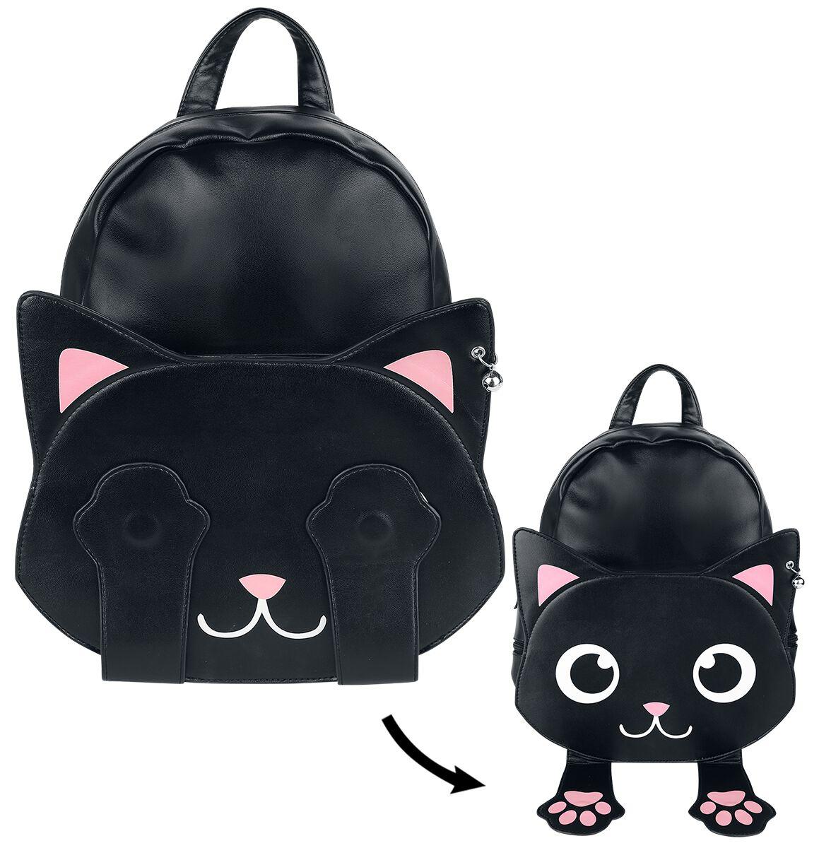 Banned Alternative Backpack Of Tricks Rucksack schwarz weiß BG7240
