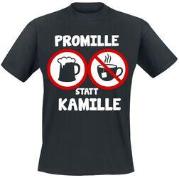 Promille statt Kamille