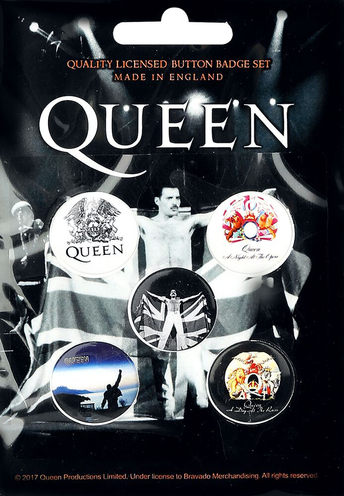 Image of Queen Mix Button-Pack multicolor