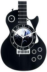 Acryl-Wanduhr Gitarre