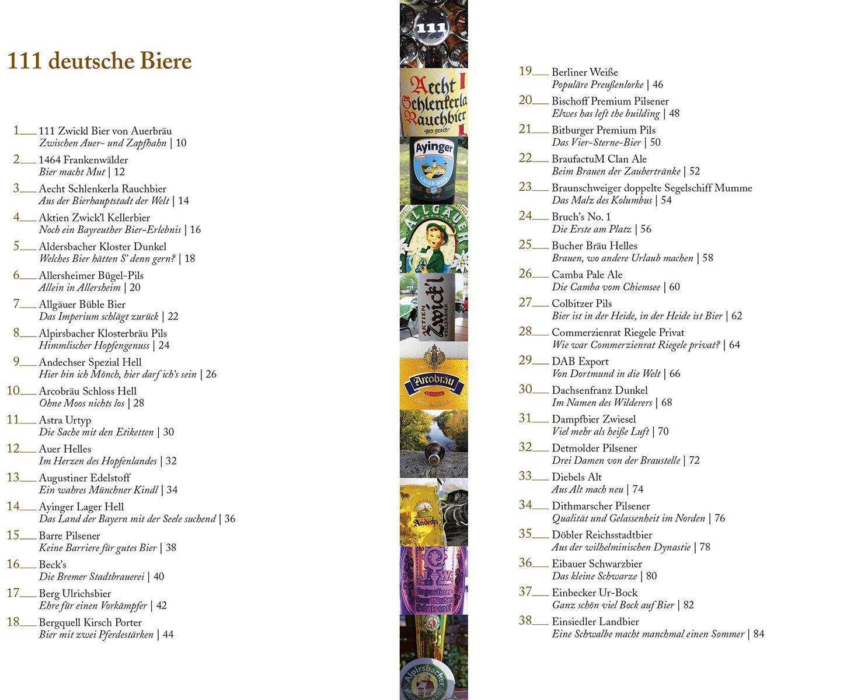 111 deutsche Biere, die man getrunken haben muss Sachbuch | EMP