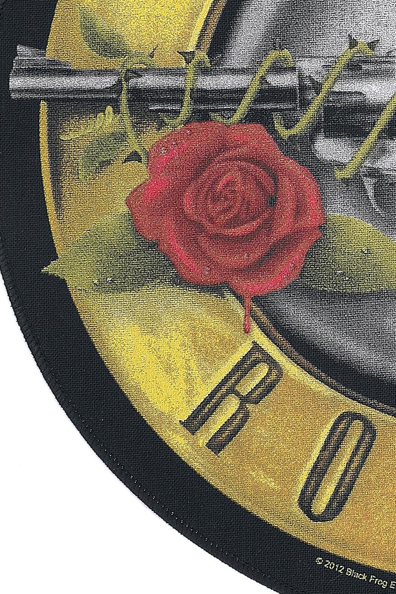 Image of Guns N' Roses Bullet Logo Backpatch Mehrfarbig