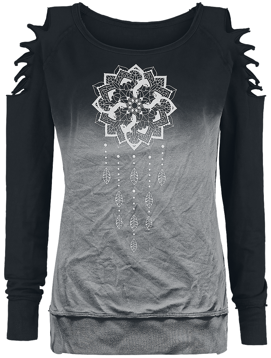 Outer Vision - Dreamcatcher - Girls sweatshirt - black image